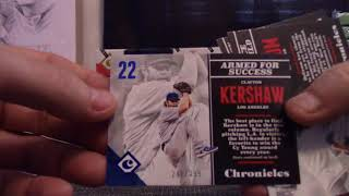 2017 Panini Chronicles Baseball 6  Box 'Serial #s' GB
