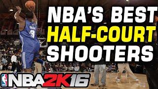 NBA 2K16 Best Half-Court Shots