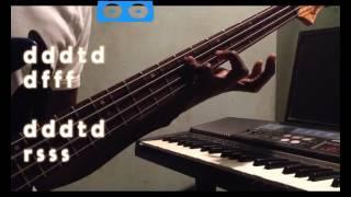 Makossa/ Soukous bass line pattern for gospel praise 101