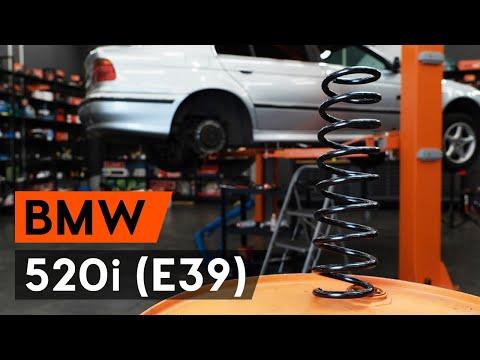 BMW 5er E39 Touring Schraubenfeder Feder Hinten