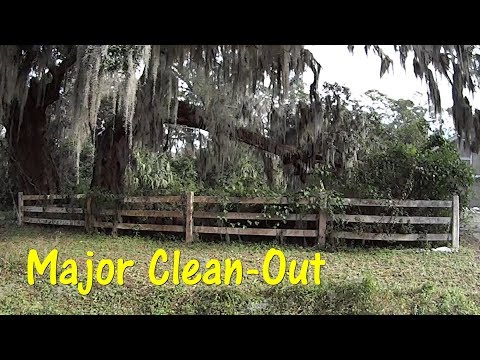 Cutting Grass - Massive Clean out - SMR Ep 1 #Charity #PayItForward