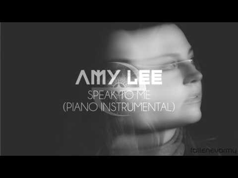 Amy Lee - Speak To Me (Piano Instrumental) by xalakul