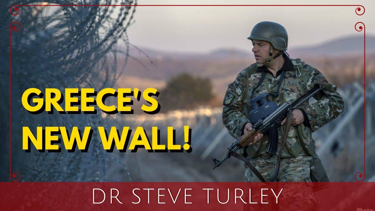 Greece Erects Massive Concrete Border Wall to STOP Migrant Invasion!!!