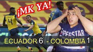 Ecuador vs Colombia Reacción (HINCHA COLOMBIANO)