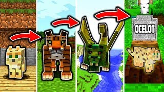 OZELOT LEBENSZYKLUS in Minecraft! - Von einer KATZE zum KILLER