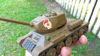 Танк Т-34, радянські військові іграшки металеві