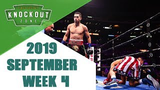 Boxing Knockouts | September 2019 Week 4