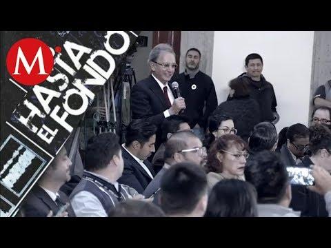Nino Canún en la mañanera de AMLO  Uno hasta el fondo