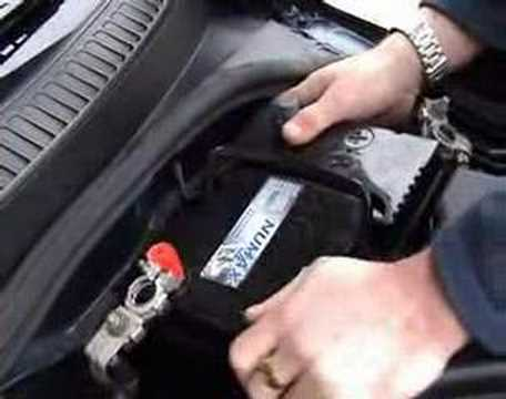 How to FIT / CHANGE A CAR BATTERY - YouTube