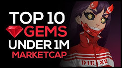 Top 10 Crypto Gems Under 1M Market Cap