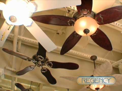Regency ceiling fans a tradition in quality since 1946 youtube aloadofball Images