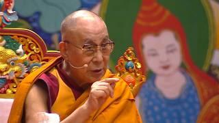 Учения в Риге 2018. День 2. Сессия 1. Его Святейшество Далай-лама