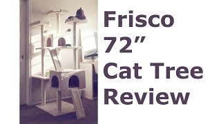 Frisco Cat Tree 72in review, Large, Cream, from Chewy Video