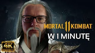 (4K) Mortal Kombat 11 (1 minuta) (+napisy) #mk11 #mortalkombat11 #WBPromotion #review