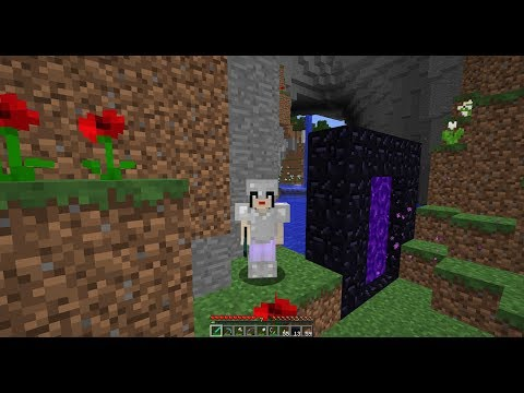 Epi 11: The World is Flat Minecraft Let's Play Observation Tower,Zombie Deaths, Cute Villager Babies