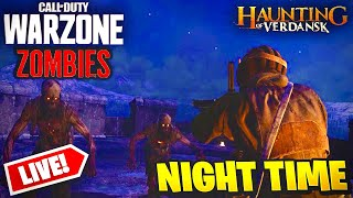 NEW WARZONE THE HAUNTING OF VERDANSK EVENT LIVE NOW l WARZONE ZOMBIES GAMEPLAY l NEW HALLOWEEN SKINS