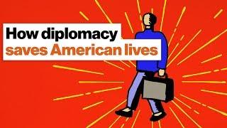 How diplomacy saves American lives | Ronan Farrow
