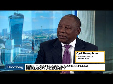 South Africa's Ramaphosa Sees Potential for 3% Growth