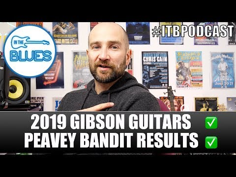 Gibson 2019 Guitars, Denmark & Sweden, The Best Way To Improve on Guitar - INTHEBLUES Tone Podcast Mp3