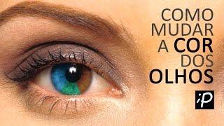 Como Mudar a Cor dos Olhos no Photoshop (Olhos Claros e Escuros)
