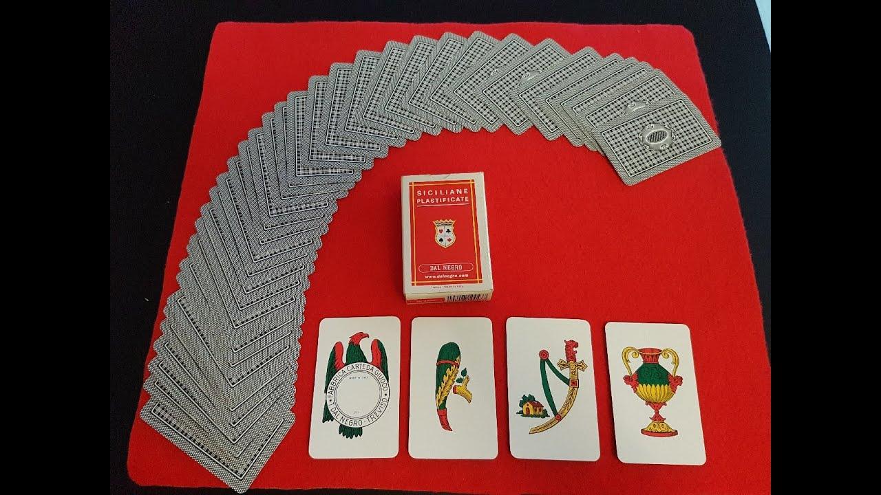 Trucco di magia con carte napoletane siciliane 40 for Due di bastoni carte napoletane