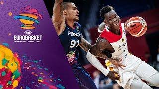 Germany v France - Full Game - Round of 16 - FIBA EuroBasket 2017