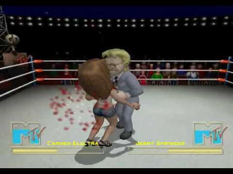 MTV Celebrity Deathmatch PS2 ISO - isoroms.com