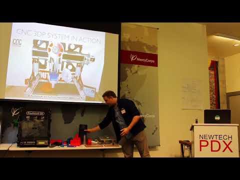 CNC Router Parts - NewTech PDX - October 2015