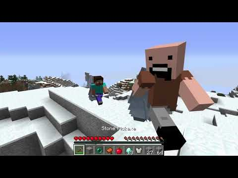 Don't Be Friend With Notch And Herobrian (part 2)