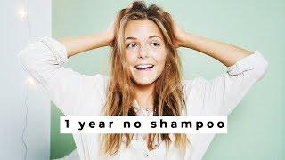 1 YEAR NO SHAMPOO | Update & Hair Routine