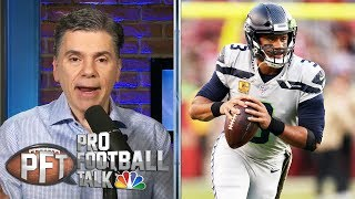 Experience helps push Rusell Wilson past Jimmy Garoppolo and 49ers | Pro Football Talk | NBC Sports