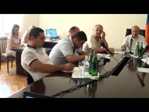 Բյուրեղավան համայնքի ավագանու արտ. նիստ-14.09.18