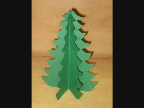 how to make a tree from paper