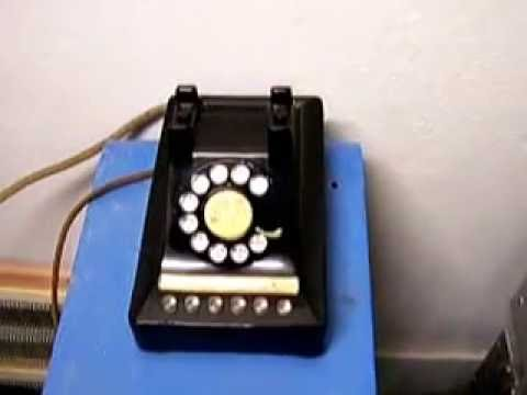 Western Electric 755A Crossbar PBX Demonstration
