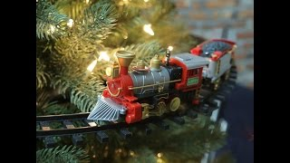 Best Christmas Tree Train Set with on the Tree Train Tracks