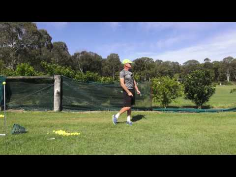 Fold And 'Hammer' Golf Swing  no 1