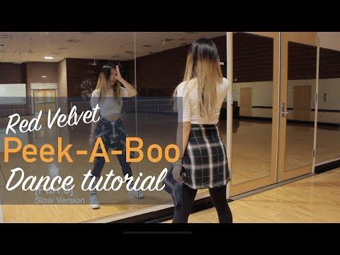 Red Velvet 레드벨벳 '피카부 (Peek-A-Boo)' _ Lisa Rhee Dance Tutorial