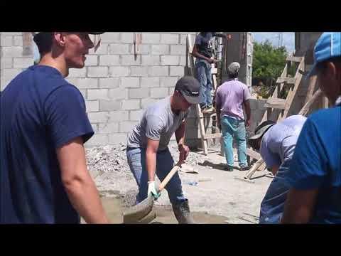Construyen centro multiuso en Iglesia Cristo Para Todos
