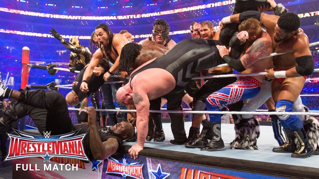 Download FULL MATCH - Andre the Giant Memorial Battle Royal: WrestleMania 32