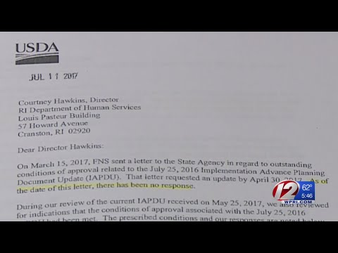 Federal Government expressing new concerns about RI