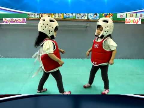 Cutest Karate Kids Taekwondo Fight Ever - Martial Artist Battle