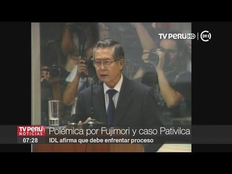 IDL y exabogado de Alberto Fujimori discrepan sobre proceso del caso Pativilca