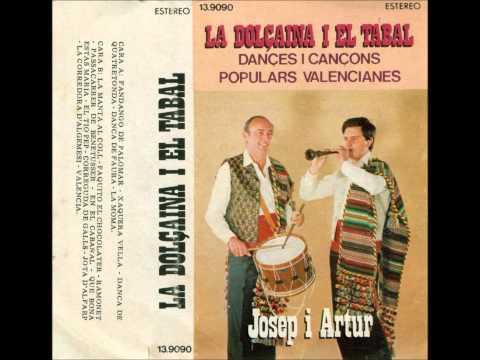 Josep i Artur. La dolçaina i el tabal. Danses i cançons populars valencianes.