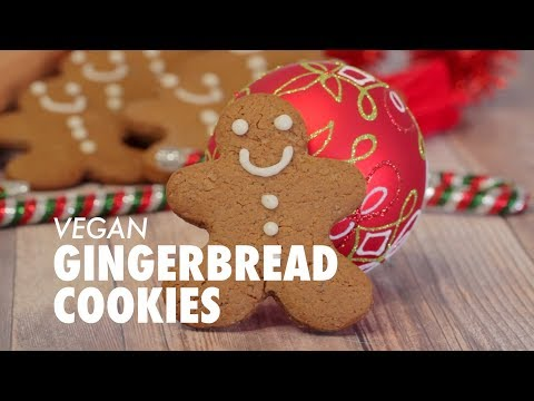 Vegan Gingerbread Cookies – Loving It Vegan.