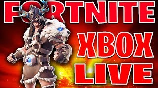 🔴FORTNITE XBOX ONE LIVE STREAM! OPEN LOBBY SQUADS!