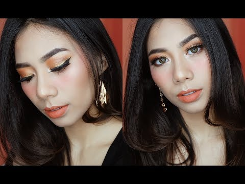 Burnt Orange Makeup Tutorial - Abel Cantika