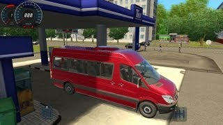 City Car Driving Mercedes-Benz Sprinter 324 HD