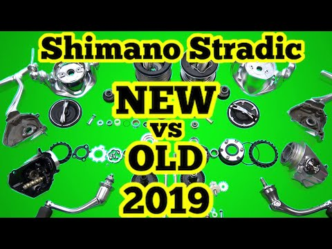 2019 Shimano Stradic FL Reviewed And COMPARED TO THE STRADIC FK And SUSTAIN