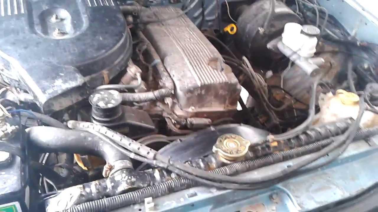 Nissan Con Motor De Inyeccion Electronica