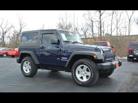 2013 jeep wrangler sport for sale dayton troy piqua sidney ohio cp15083ct youtube. Black Bedroom Furniture Sets. Home Design Ideas